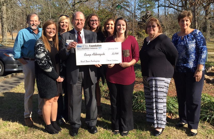 Camp Aldersgate awarded $6,144 from Blue & You Foundation
